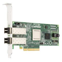Двухпортовая оптическая сетевая карта HBA Emulex LPE12002