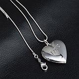 """Медальон на цепочке """"Love"""", фото 2"""