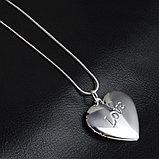 """Медальон на цепочке """"Love"""", фото 4"""