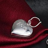 """Медальон на цепочке """"Love"""", фото 5"""