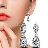 "Серьги с кристаллами ""Diana"", фото 6"