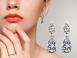 "Серьги с кристаллами ""Diana"", фото 5"