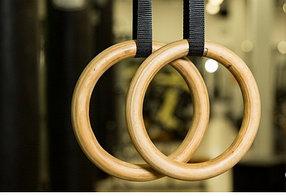 Кольцо гимнастическое профессиональные Деревянные