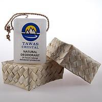 Кристалл  в брусках с глицерином на шнурке из пальмы Абака (плавленный), фото 1
