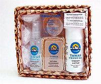 Кристалл Свеж. Подарочный набор в коробке из пальмы Пандан