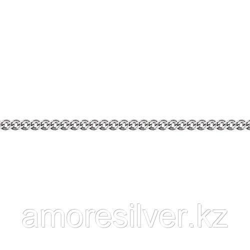 Цепь Адамант серебро с родием, без вставок, нонна Ср925Р-103606050
