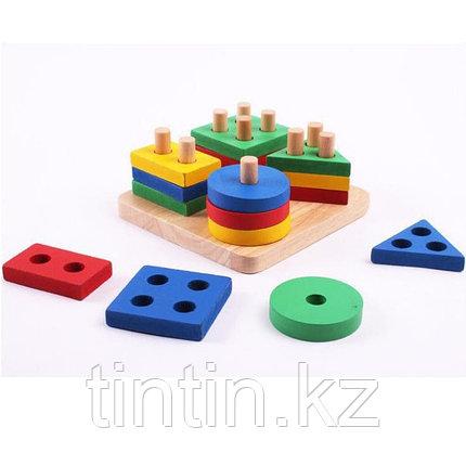 Сортер геометрические фигуры, фото 2