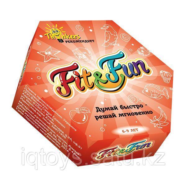 Настольная игра THINKERS Fit & Fun 6-9 лет