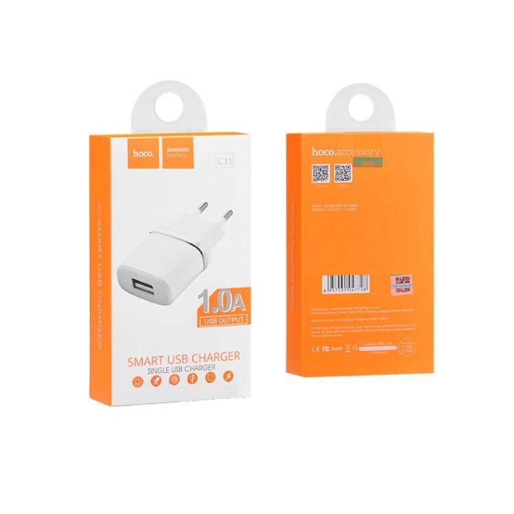 Зарядное устройство Hoco C11 1A
