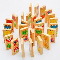 Детское деревянное Домино