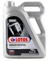 Моторное масло LOTOS SEMISYNTETIC THERMAL CONTROL 10w40 4 литра