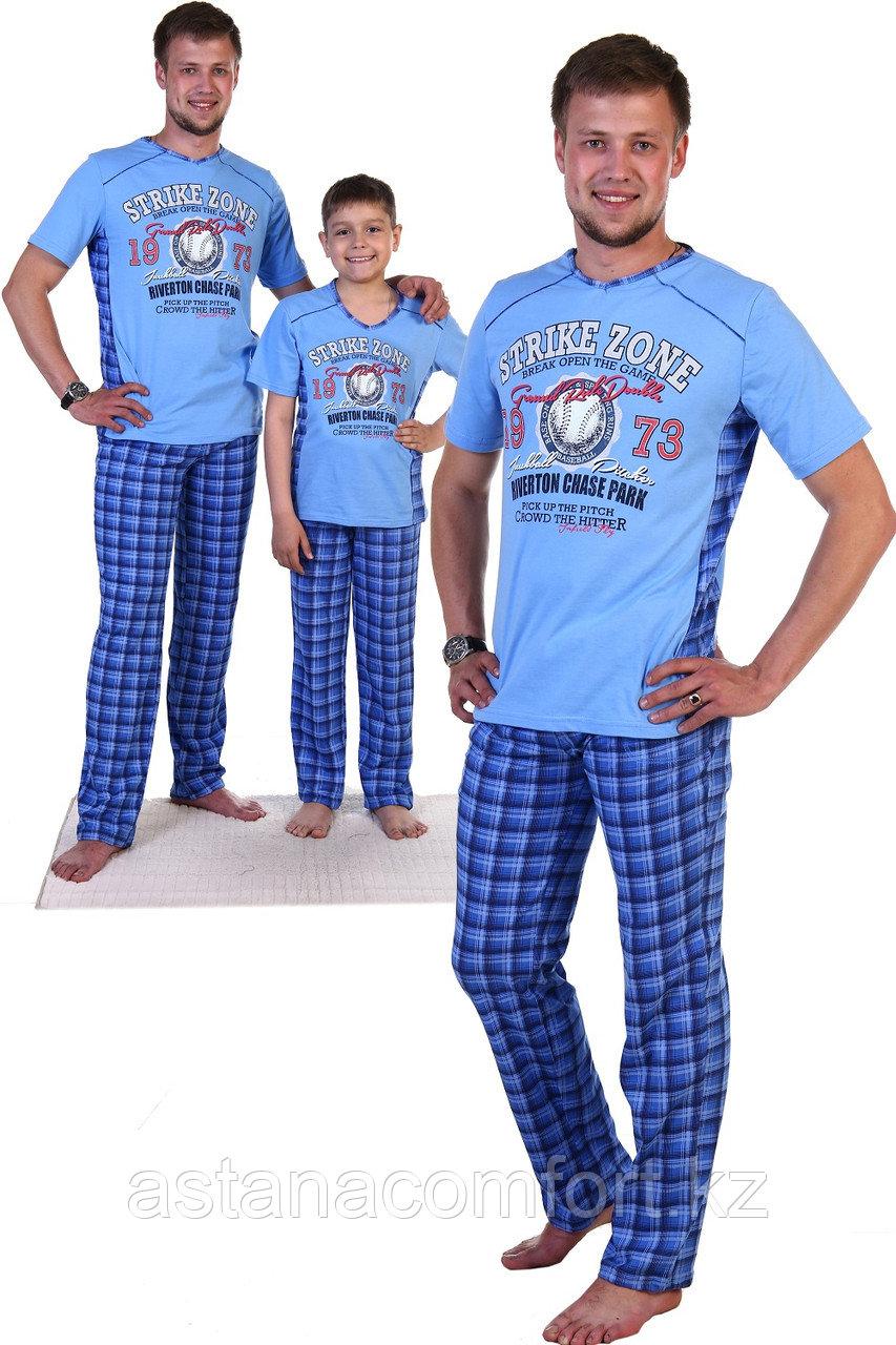 """Мужская пижама """"Бейсбол""""."""