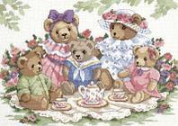 """Набор для вышивания крестом """"Чайная вечеринка"""""""