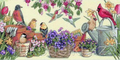 """Набор для вышивания крестом """"Садовые друзья"""""""