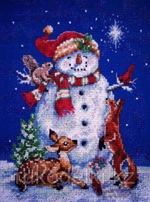 """Набор для вышивания крестом """"Снеговик"""""""