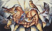 """Набор для вышивания крестом """"В руках"""""""