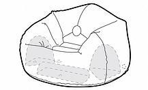 Надувное кресло Intex 68579, фото 3