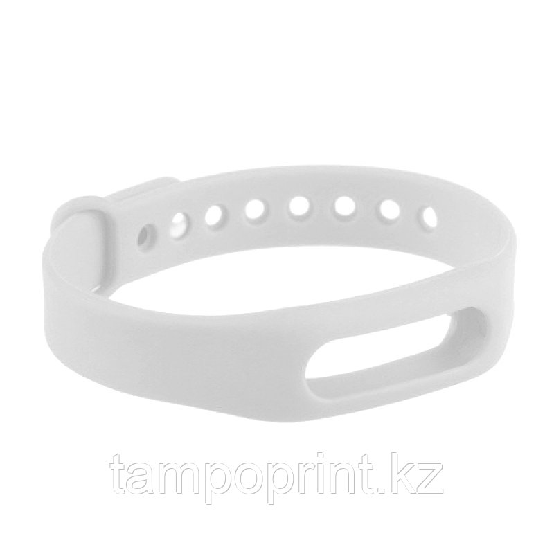 Ремешок силиконовый для фитнес-браслета Xiaomi Mi Band 1s Pulse белый