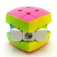 Кубик-головоломка Yuxin пузатик 3х3 цветной