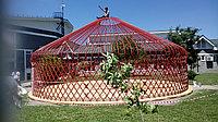 Юрта 12-ти канатная с металлическим каркасом