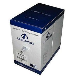 Кабель Linkbasic CLA04-UC5E-9016  Cat 5E UTP 4 пары, внутренней прокладки , RAL9016, бухта 305м