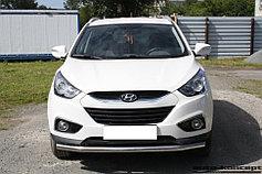 Обвес, защита бамперов, порогов из нержавеющей стали Hyundai ix35 2013-2015