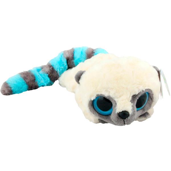 AURORA Юху и друзья Игрушка мягкая Юху голубой лежачий 16 см