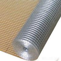 Сетка сварная в рулонах из оцинкованной проволоки д. 2,0 мм, ячейка 75х50 мм, рулон 1х20 метров
