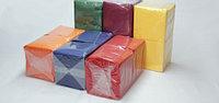 Салфетки сервировочные 2-слойные, цветные 33*33 100 листов