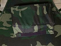 """Раскладушка """"камуфляж"""" с подушкой., фото 2"""
