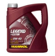 Моторное масло MANNOL Legend+Ester 0w40 4 литра