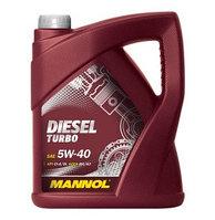 Моторное масло MANNOL Diesel Turbo 5w40 5 литров