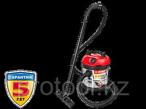 Пылесос строительный, ЗУБР ПУ-20-1400 М3, модель М3-20, 20 л, 1400 Вт, сухая и влажная уборка, фото 2