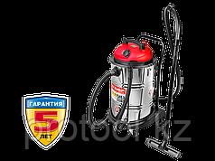 Пылесос строительный, ЗУБР ПУ-60-1400 М4, модель М4-60, 60 л, 1400 Вт, сухая и влажная уборка