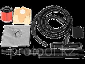 Пылесос строительный, ЗУБР ПУ-60-1400 М4, модель М4-60, 60 л, 1400 Вт, сухая и влажная уборка, фото 3