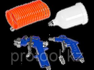 Компрессор воздушный, ЗУБР ЗКП-180-6-1.1-Н3, поршневой, безмасляный, 180 л/мин, 6 л, 8 Атм, 1100 Вт, 220 В, фото 2