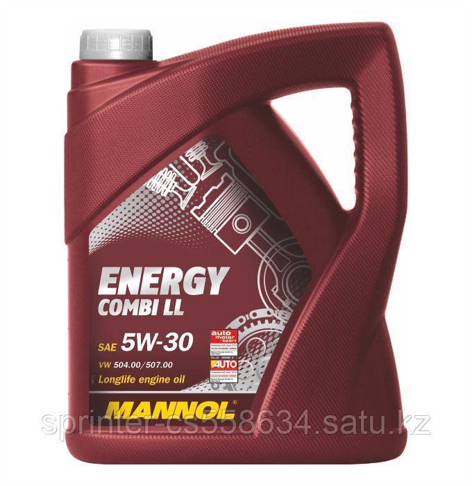 Моторное масло MANNOL Energy Combi LL 5w30 4 литра