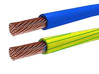 Провод силовой ПуГВ 1*6 ж/з (ПВ-3 6 ж/з)