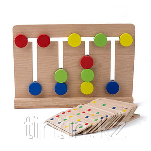 Логическая игра - Лабиринт 4 цвета