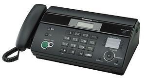 Факсимильный аппарат на термобумаге Panasonic KX-FT982CA-B