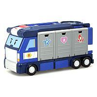 Robocar Poli Передвижная штаб-квартира (металлическая машинка Поли в комплекте)
