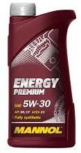 Моторное масло MANNOL Energy Premium 5w30 1 литр