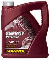 Моторное масло MANNOL Energy Premium 5w30 5 литров