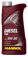 Моторное масло MANNOL Diesel TDI 5w30 1 литр