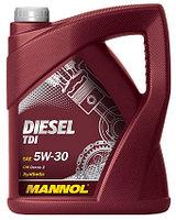 Моторное масло MANNOL Diesel TDI 5w30 5 литр