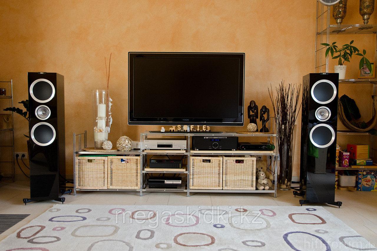 Напольная акустика KEF R900 черный лак