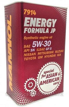 Моторное масло MANNOL Energy Formula JP 5w30 1 литр