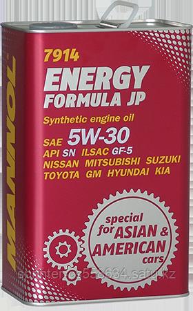 Моторное масло MANNOL Energy Formula JP 5w30 4 литра