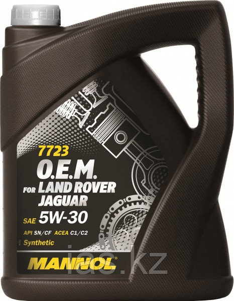 Моторное масло MANNOL O.E.M. for Land Rover Jaguar 5w30 5 литров