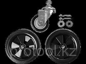 Компрессор воздушный, ЗУБР Профессионал ЗКПМ-440-50-Р-2.2, поршневой, масляный, ременной привод, 440 л/мин, 50, фото 3